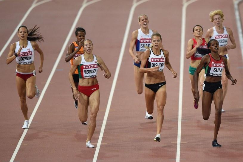 Joanna Jóźwik (z lewej) /AFP