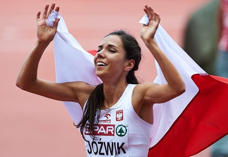Joanna Jóźwik zdobyła brąz na ME w Zurychu /Adam Warżawa /PAP