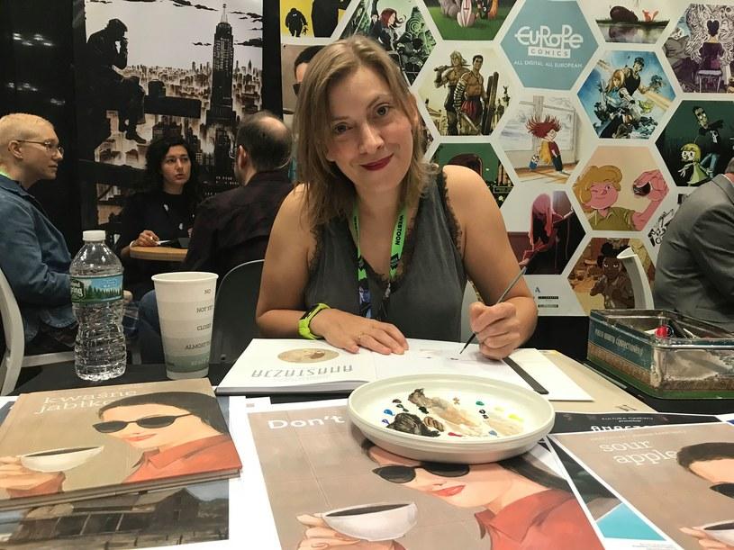 Joanna Karpowicz - malarka, autorka komiksów, ilustratorka /materiały prasowe