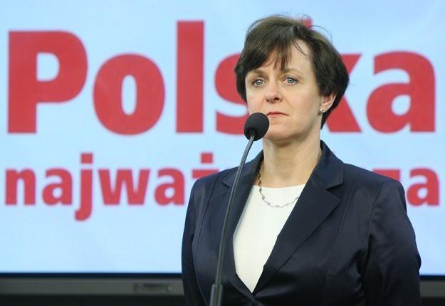 Joanna Kluzik-Rostkowska / fot. S. Kowalczuk /East News