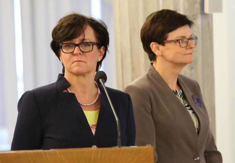 Joanna Kluzik-Rostkowska i Krystyna Szymilas /Polska Press /East News