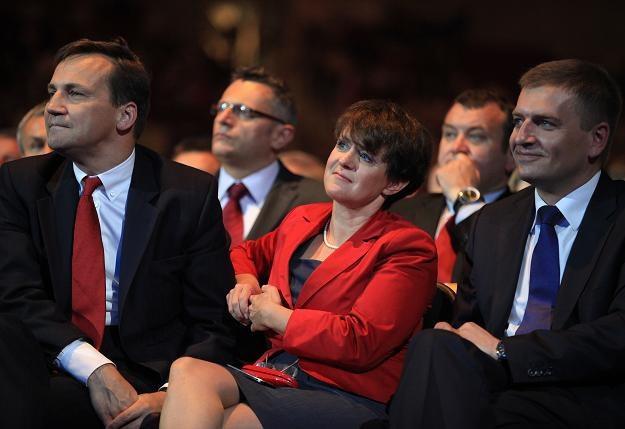 Joanna Kluzik-Rostkowska podczas Ogólnopolskiej Konwencji Platformy Obywatelskiej /fot. R. Jocher /PAP