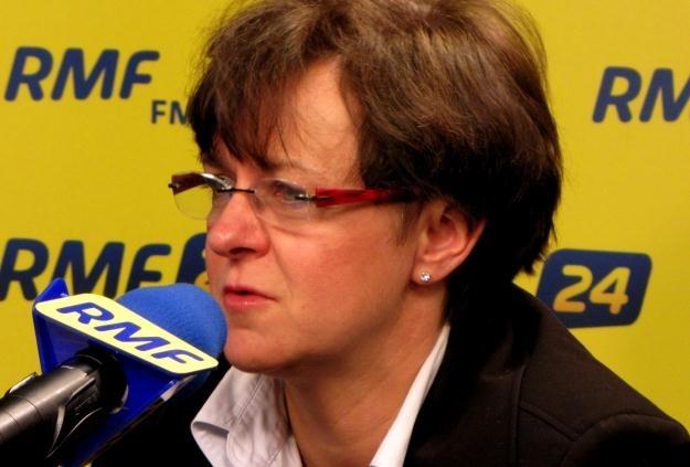 Joanna Kluzik-Rostkowska w Kontrwywiadzie RMF FM /RMF