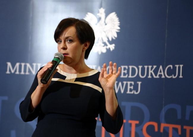 Joanna Kluzik-Rostkowska /PAP/Tomasz Gzell /PAP