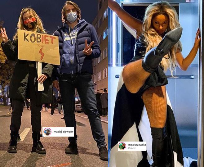 Joanna Koroniewska i Maciej Dowbor, Marta Gałuszewska /Instagram