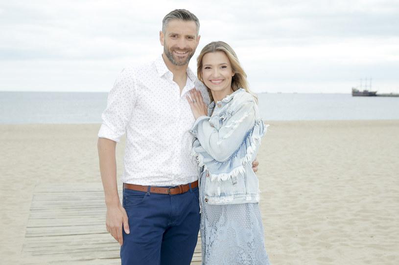 Joanna Koroniewska i Maciej Dowbor są małżeństwem od 7 lat. Mają 2 dzieci /Podlewski /AKPA