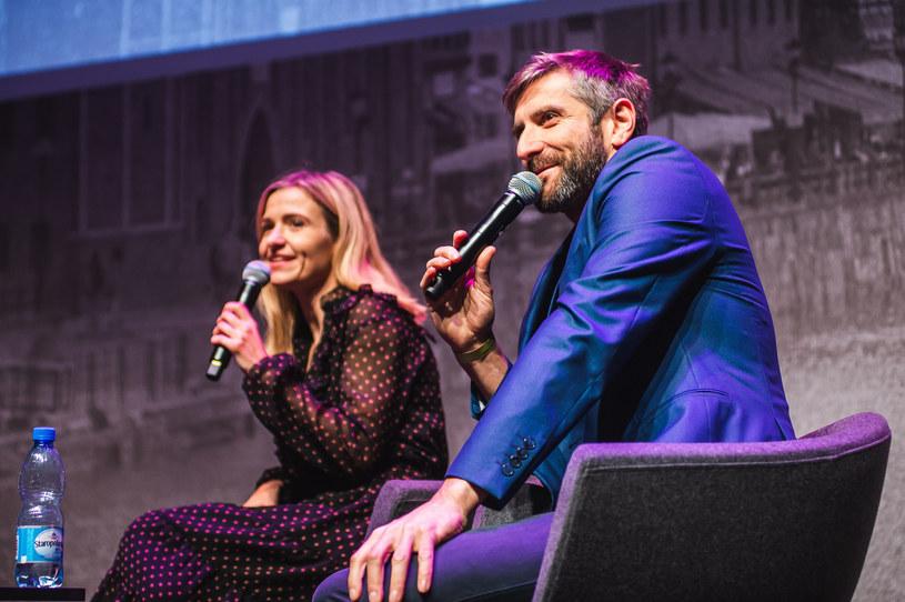 Joanna Koroniewska i Maciej Dowbor tworzą szczęśliwe małżeństwo /Karol Makurat /East News