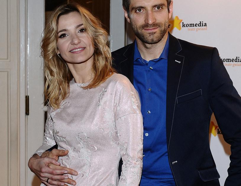Joanna Koroniewska i Maciej Dowbor /Andras Szilagyi /MWMedia
