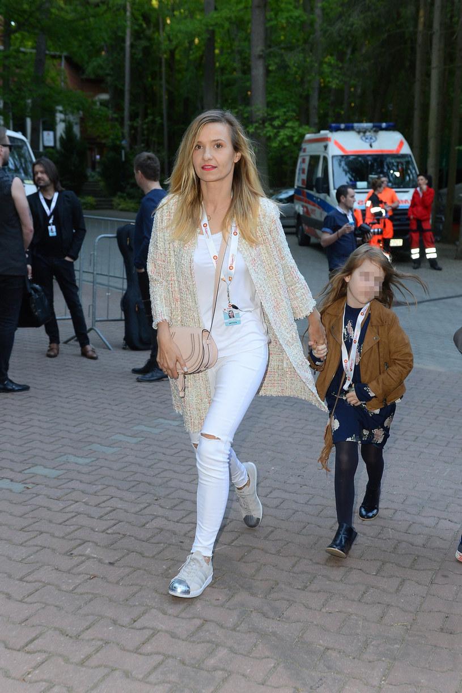 Joanna Koroniewska z córką Janiną /East News