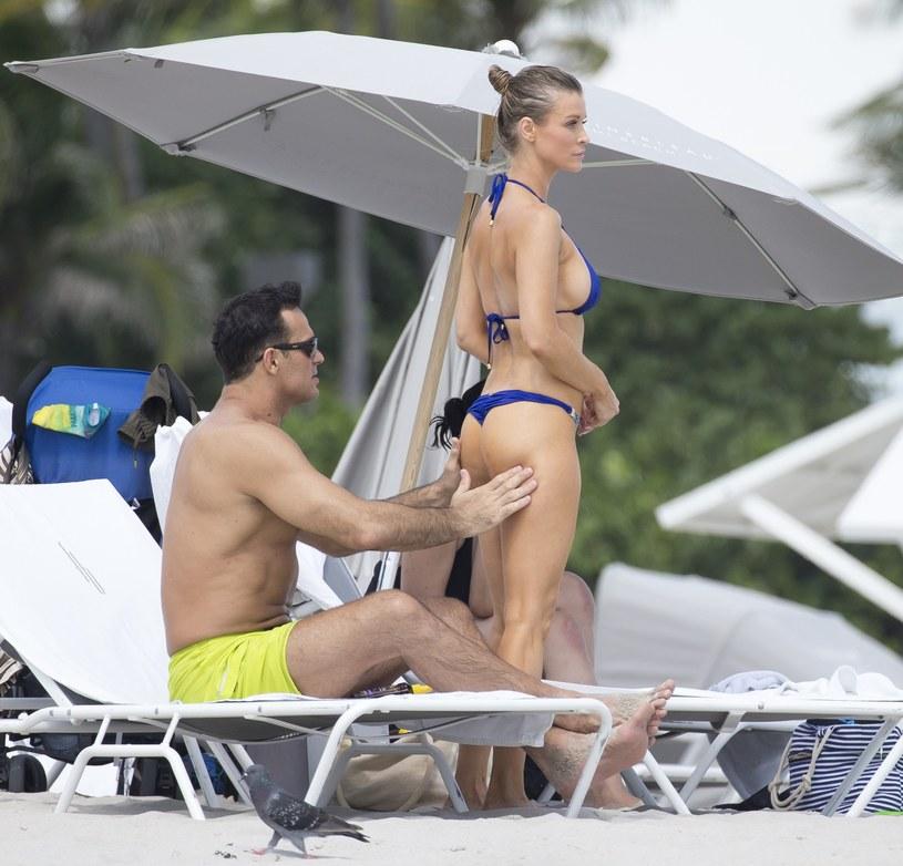 Joanna Krupa i jej były mąż, Romain Zago /Splash News /East News