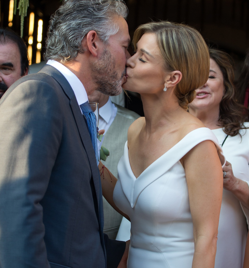 Joanna Krupa i jej mąż Douglas /Splashnews /East News