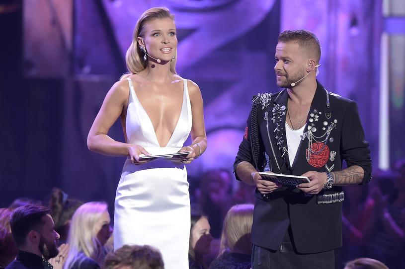"""Joanna Krupa i Michał Piróg przyjaźnią się od lat, pracowali razem na planie programu TVN """"Top Model"""" /AKPA"""