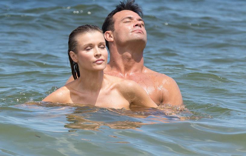 Joanna Krupa i Romain Zago, kiedy byli jeszcze małżeństwem /East News
