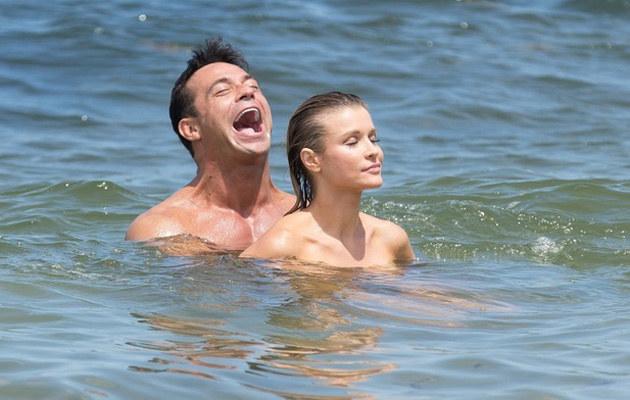 Joanna Krupa i Romain Zago są małżeństwem od dwóch lat. Pora na dzieci? /East News
