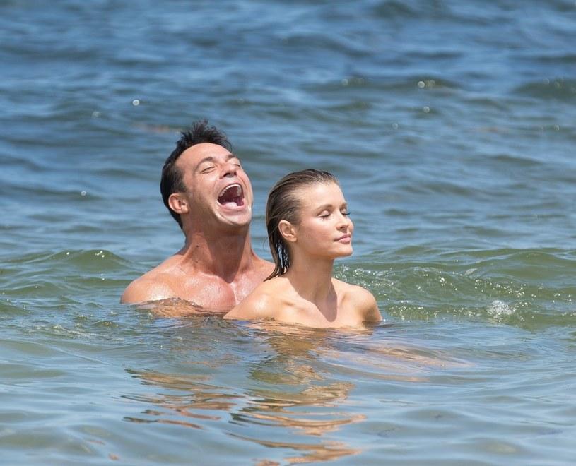 Joanna Krupa i Romain Zago /- /East News