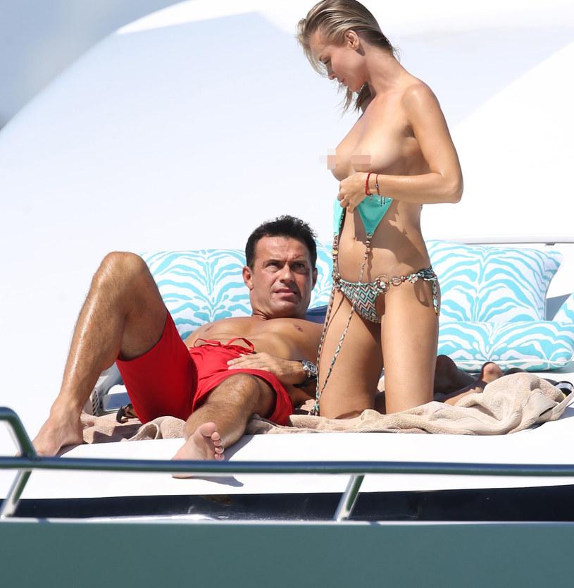 Joanna Krupa i Romain Zago /Brett Kaffee, PacificCoastNews /East News