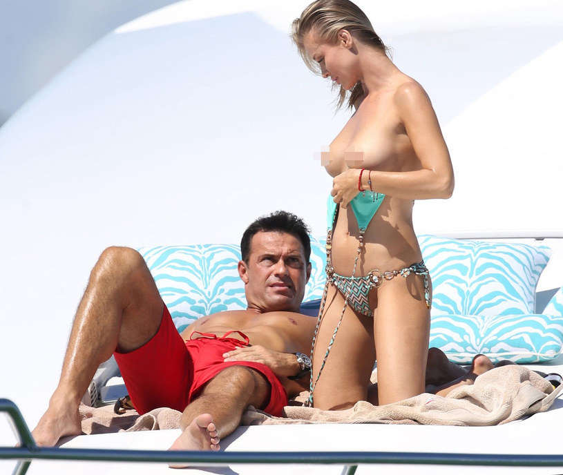 Joanna Krupa i Romain Zago /East News