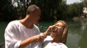 Joanna Krupa ochrzczona w rzece Jordan