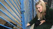 Joanna Krupa w kieleckim schronisku