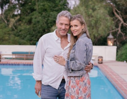 Joanna Krupa z mężem, fot. Splash News /East News