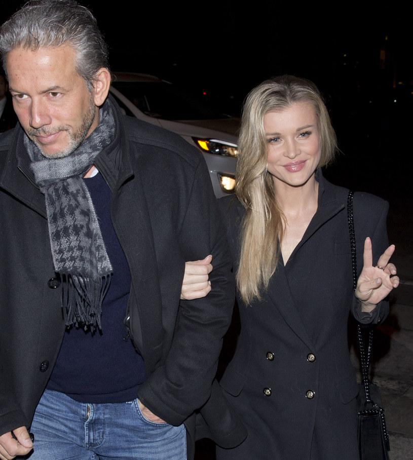 Joanna Krupa z mężem /Agencja FORUM