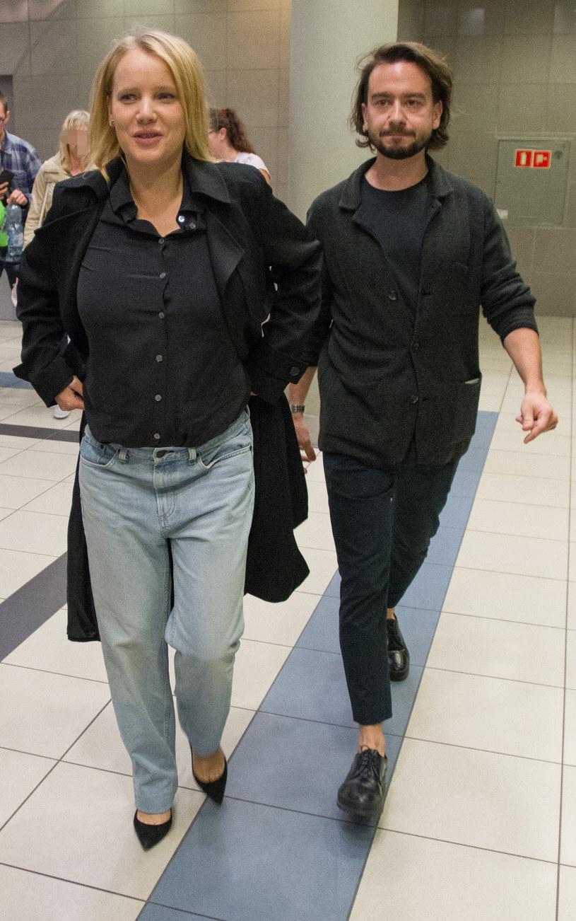 Joanna Kulig i Maciej Bochniak /ANDRZEJ ZBRANIECKI /East News