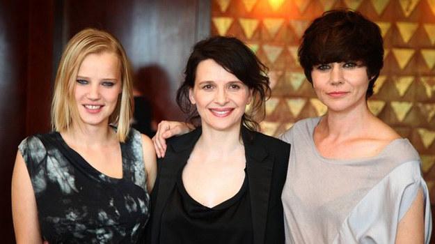 """Joanna Kulig, Juliette Binoche i Małgorzata Szumowska - to one stoją za sukcesem """"Sponsoringu"""" /East News"""