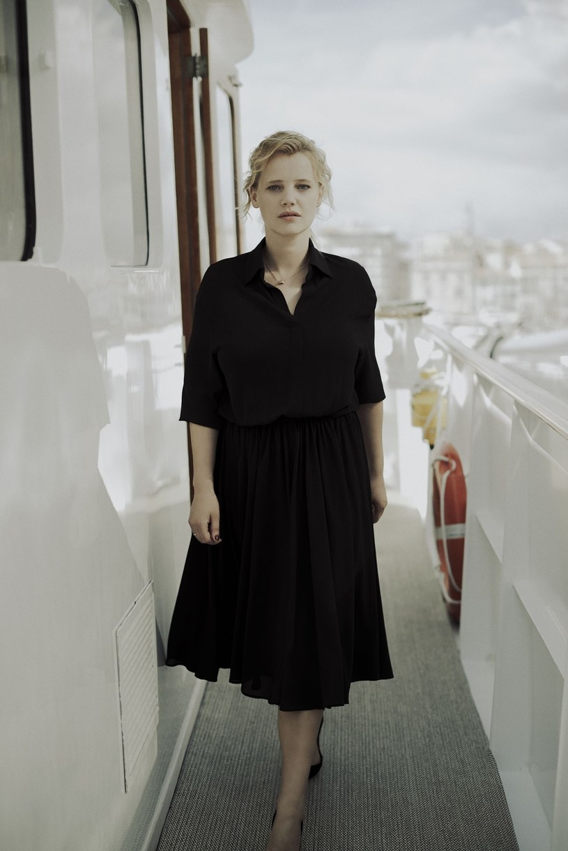 Joanna Kulig na festiwalu filmowym w Cannes 2018 /Bertrand Noel / SIPA /East News