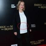Joanna Kulig na premierze filmu. Założyła koszulkę od luksusowego projektanta