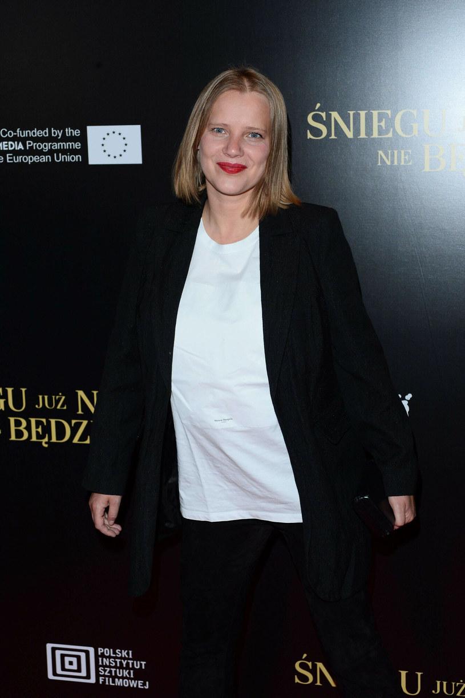 Joanna Kulig na premierze filmu /Tricolors /East News
