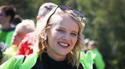 Joanna Kulig podkreśla brzuszek w Hollywood