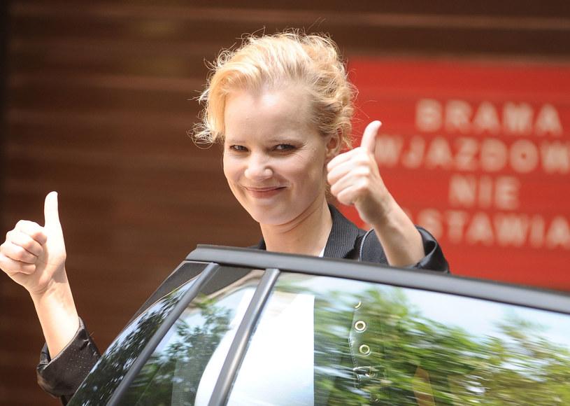 Joanna Kulig. Warszawa /Piotr Andrzejczak /MWMedia