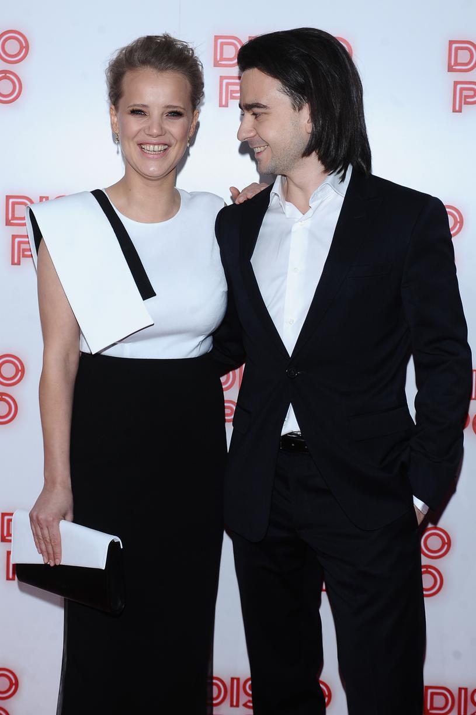 Joanna Kulig z mężem, Maciejem Bochniakiem /Andras Szilagyi /MWMedia