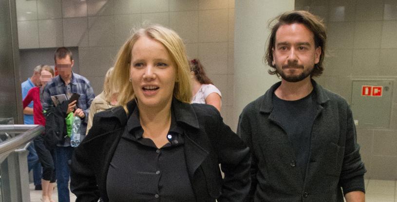 Joanna Kulig z mężem Maciejem Bochniakiem /ANDRZEJ ZBRANIECKI /East News