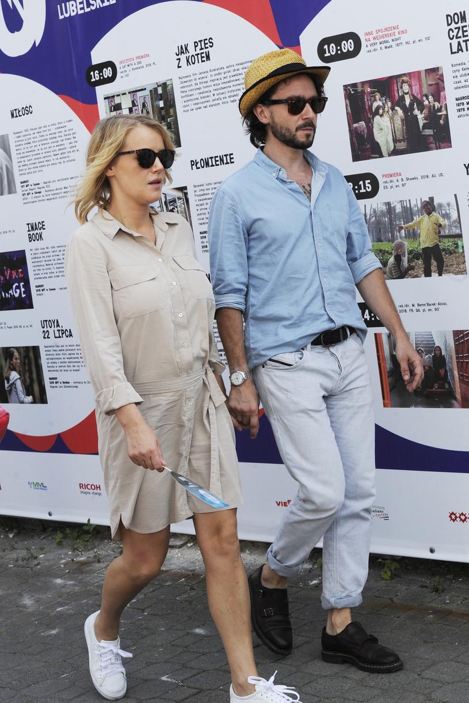 Joanna Kulig z mężem /Niemiec /AKPA