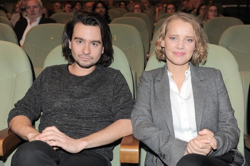 Joanna Kulig z mężem /Maciej Cyran /Agencja FORUM