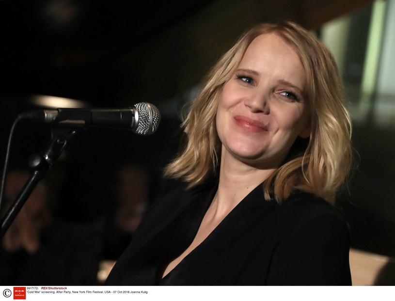 """Joanna Kulig zdobyła """"europejskiego Oscara"""" w kategorii najlepsza aktorka/fot. REX/Shutterstock /East News"""