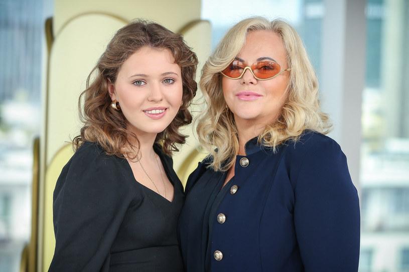 Joanna Kurowska z córką Zofią Świątkiewicz /Kamil Piklikiewicz/DDTVN /East News