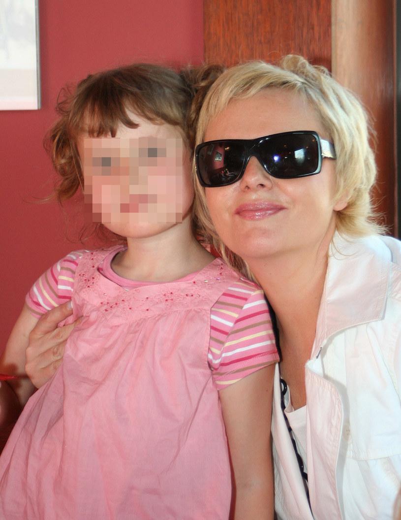 Joanna Kurowska z córką /MWMedia