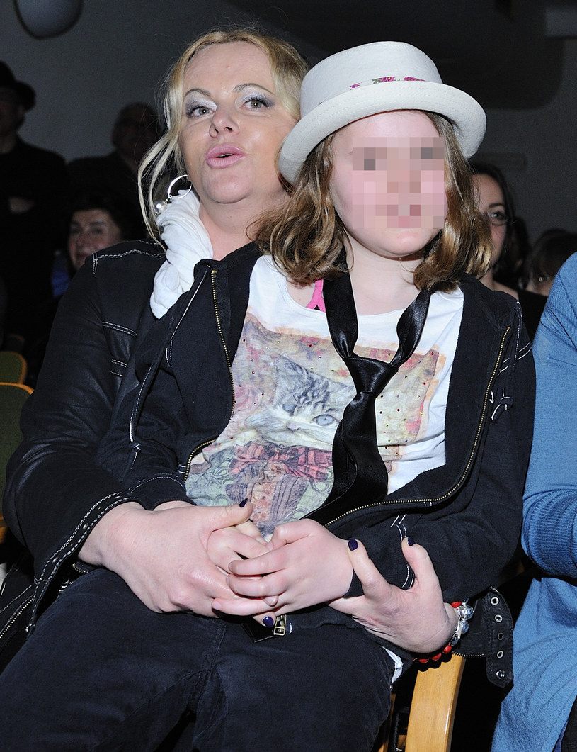Joanna Kurowska z córką /Jarosław Antoniak /MWMedia
