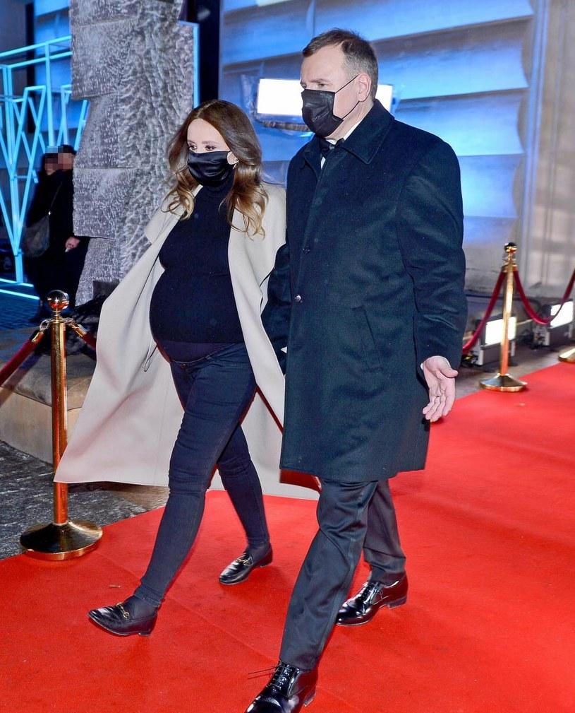 Joanna Kurska i Jacek Kurski /Marcin Wziontek /East News