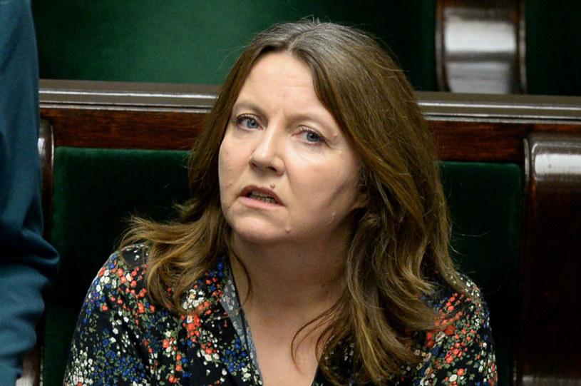 Joanna Lichocka, posłanka PiS, została ukarana naganą /Jan Bielecki /East News