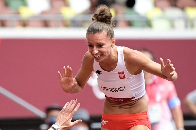 Joanna Linkiewicz podczas igrzysk Tokio 2020 /AFP