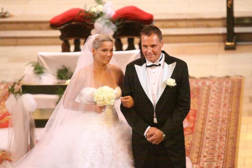 Joanna Liszowska i Ola Serneke w dniu ślubu, 2010 r., fot. Radosław Salasiński /East News