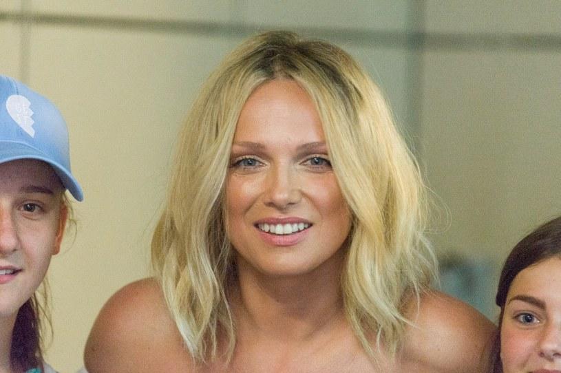 Joanna Liszowska jest utalentowana wokalnie /Artur Zawadzki /Reporter