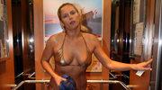 Joanna Liszowska topless bawi się na wakacjach! Co za zdjęcie!