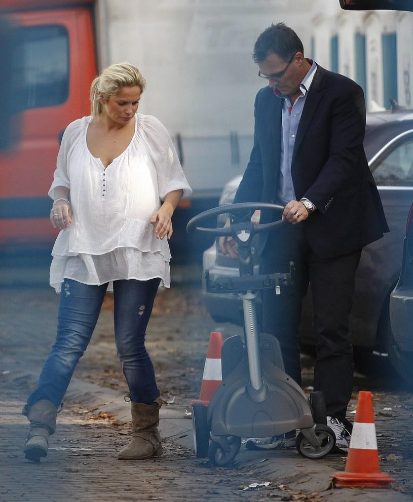 Joanna Liszowska z mężem Olą Serneke /East News