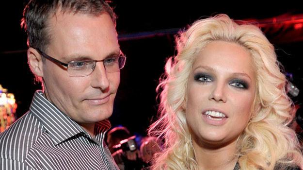 Joanna Liszowska z mężem /Agencja W. Impact