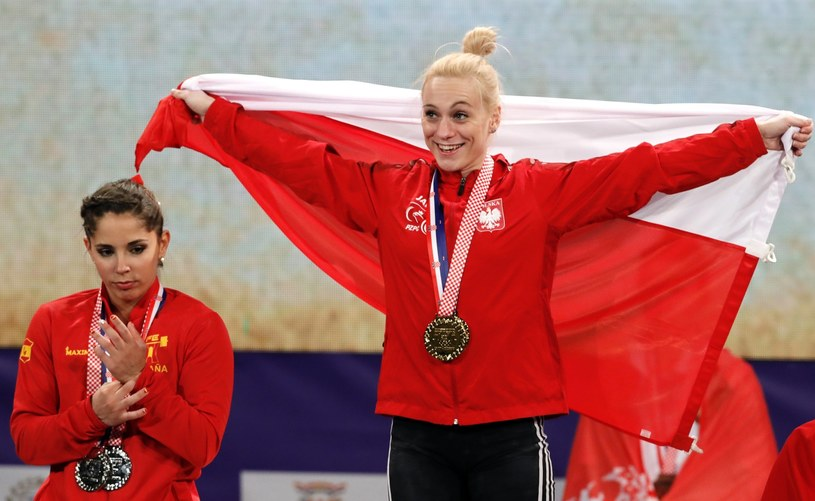 Joanna Łochowska ze złotym medalem /ANTONIO BAT /PAP/EPA