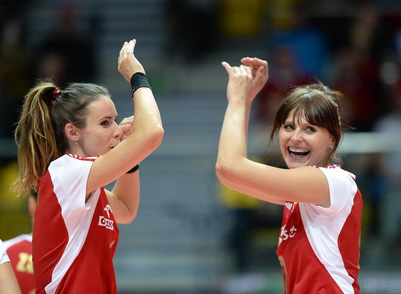 Joanna Mirek (z prawej) zdobyła z reprezentacją Polski złoty medal mistrzostw Europy /fot. LUKASZ LASKOWSKI / PRESSFOCUS NEWSPIXPL /Newspix